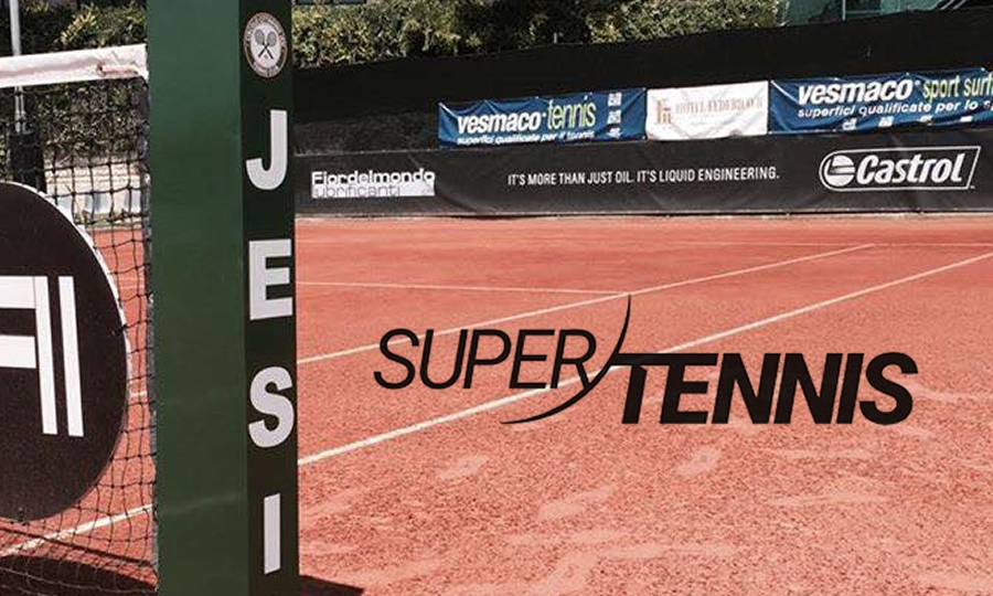 SuperTennis TV parla dell'Open di Jesi 2018